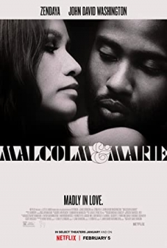 Malcolm & Marie poster