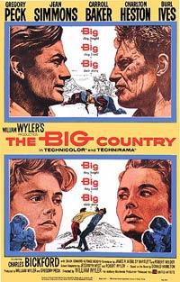 Filmposter van de film The Big Country (1958)