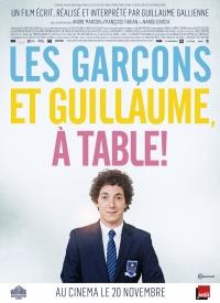 Les garçons et Guillaume, à table! (2013)