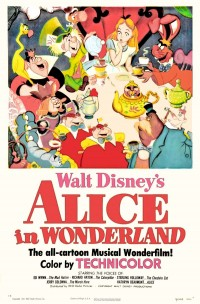 Filmposter van de film Alice in Wonderland (1951)