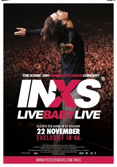 INXS Live Baby Live at Wembley Stadium