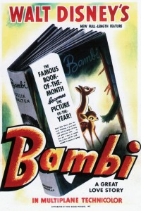 Filmposter van de film Bambi (1942)