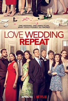 Love. Wedding. Repeat poster