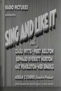 Sing and Like It (1934)