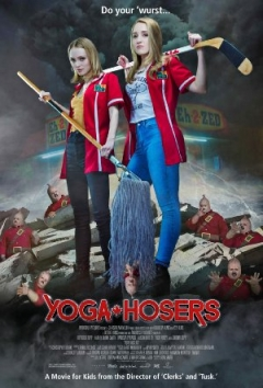 "Trailer #2 horrorkomedie 'Yoga Hosers': ""Sorry aboot that."""