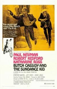 Filmposter van de film Butch Cassidy and the Sundance Kid (1969)