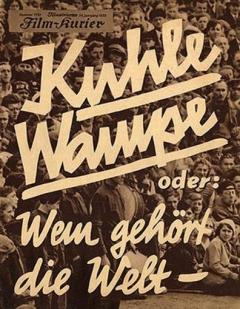 Kuhle Wampe - Wien behoort de wereld? (1932)