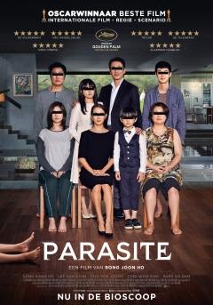 Filmposter van de film Parasite (2019)