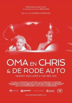Oma en Chris & de rode auto poster