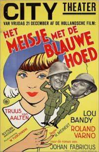 Het meisje met den blauwen hoed (1934)