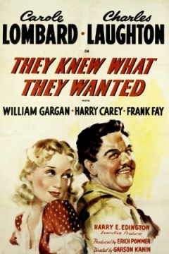 They Knew What They Wanted (1940)