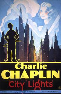 Filmposter van de film City Lights (1931)
