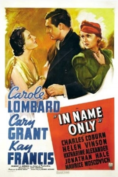 In Name Only (1939)