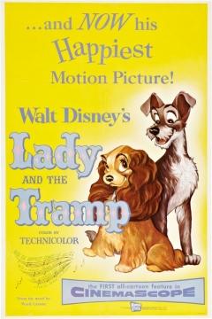 Filmposter van de film Lady and the Tramp (1955)