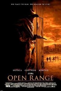 Filmposter van de film Open Range (2003)