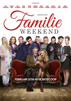 Familieweekend poster
