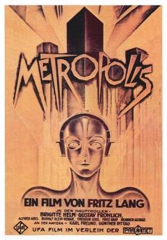 Filmposter van de film Metropolis (1927)