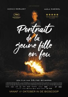 Filmposter van de film Portrait de la jeune fille en feu (2019)