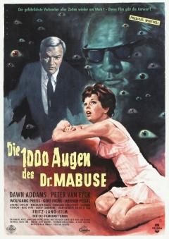 1000 Augen des Dr. Mabuse, Die (1960)