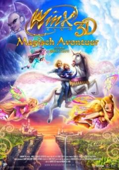 Winx Club: Het Magische Avontuur 3D poster