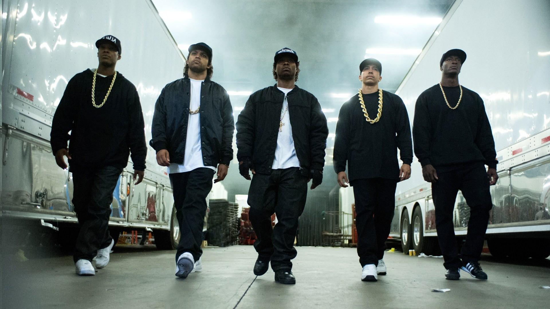 NWA staat met 'Straight Outta Compton' opnieuw op nummer één