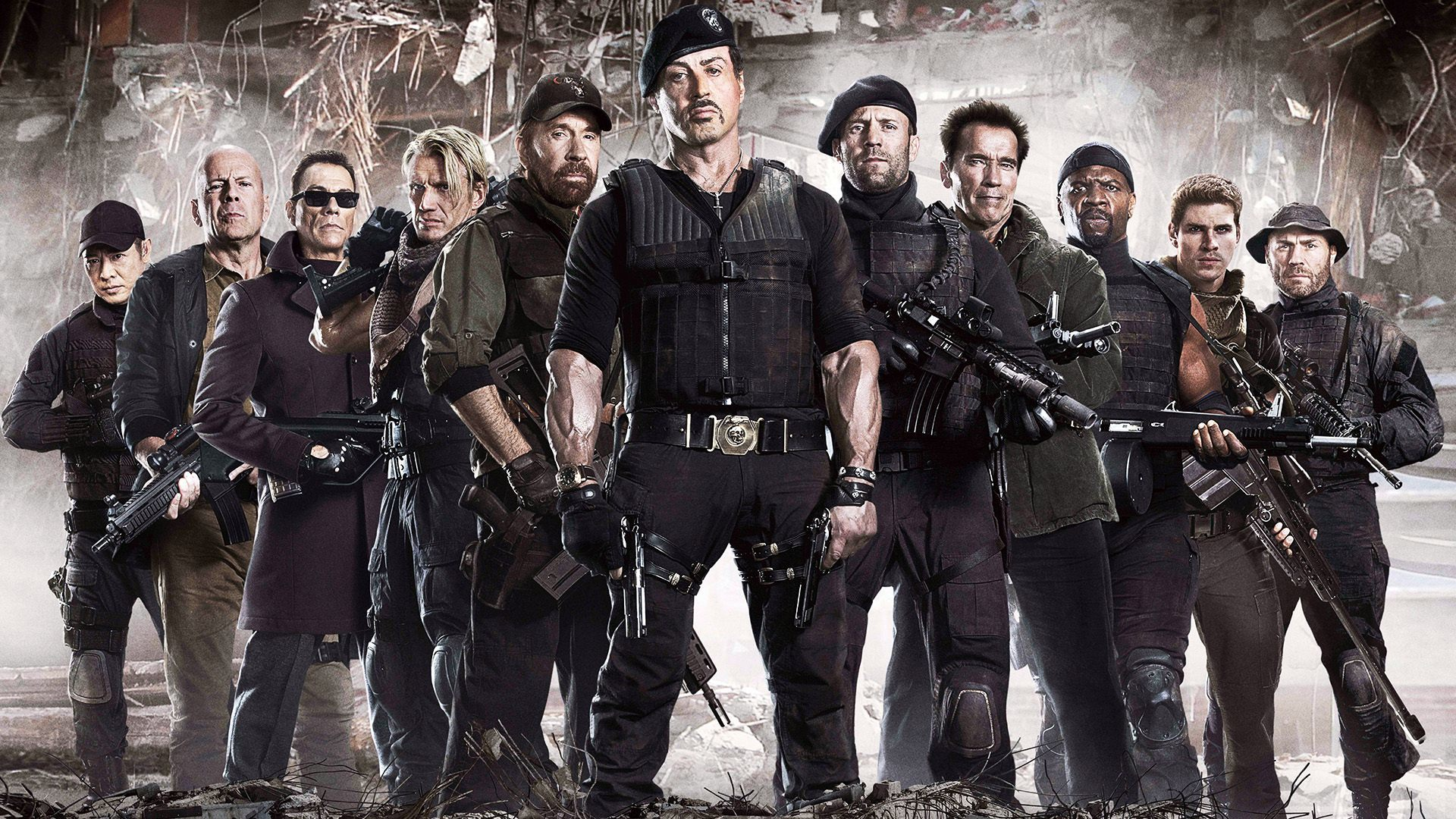 Actievolle nieuwe tv-spot 'The Expendables 3'
