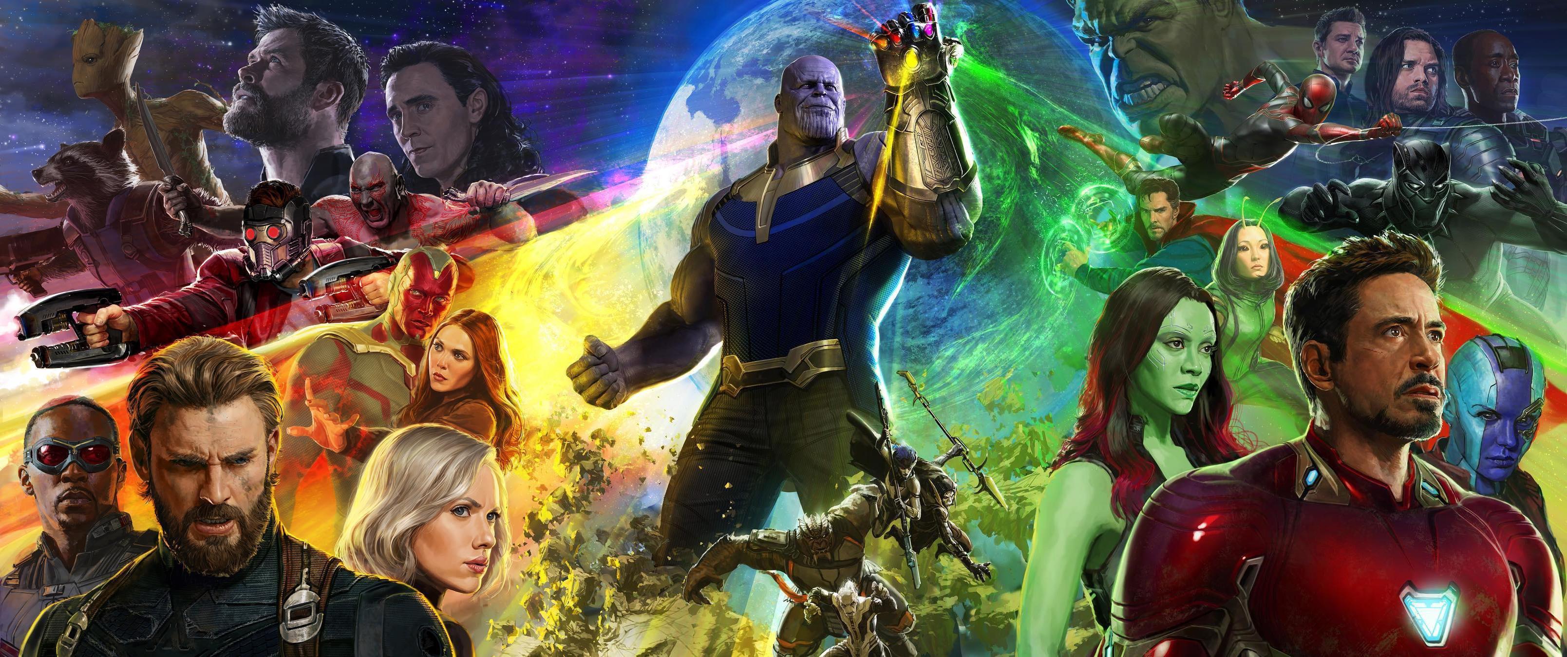 De trailer van Avengers: Infinity War staat boven aan de meest bekeken trailers van 2017