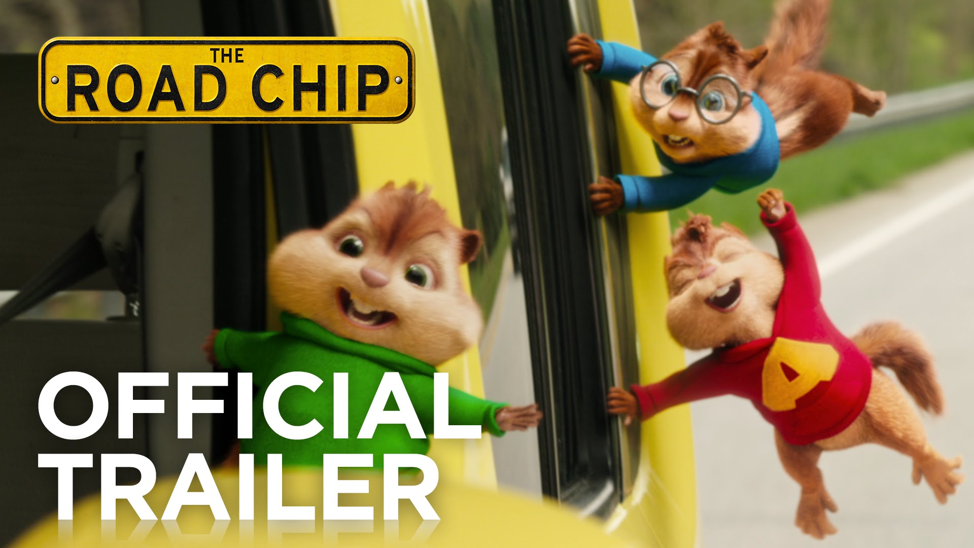 Alvin and the Chipmunks: The Road Chip (2015) video/trailer