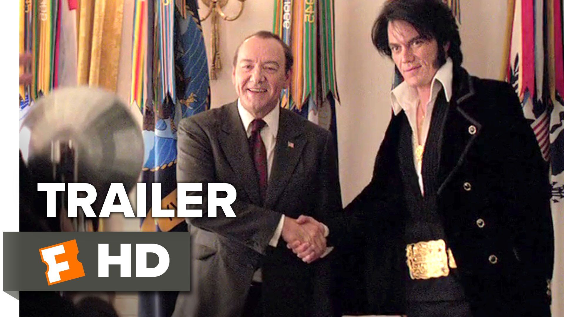 Elvis & Nixon (2016) video/trailer