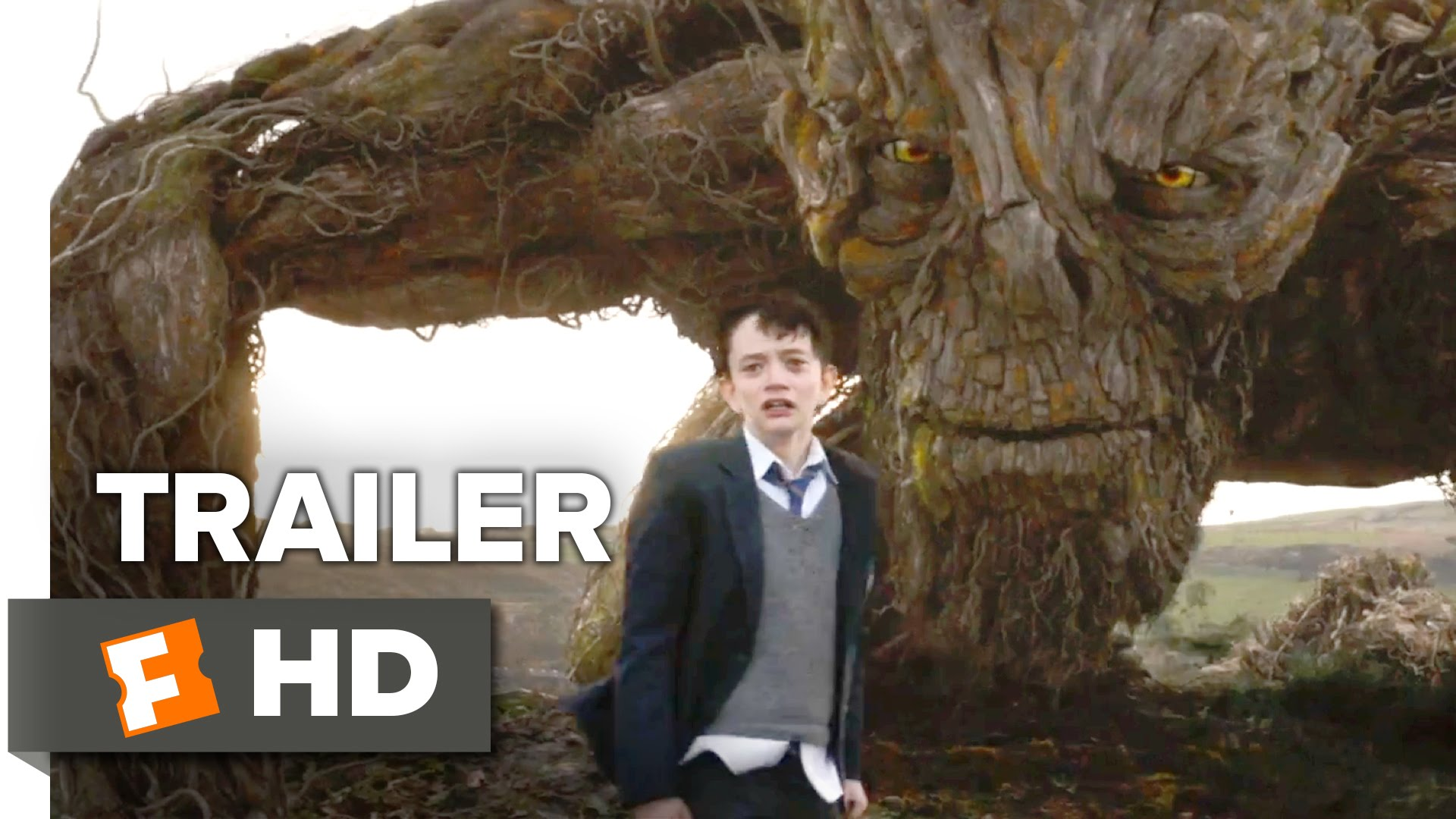 A Monster Calls (2016) video/trailer