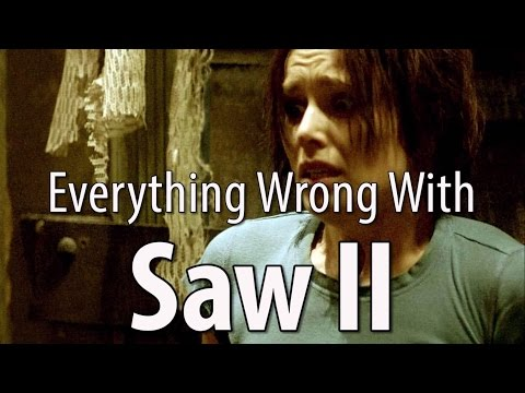 CinemaSins - Everything wrong with saw ii in 15 minutes or less