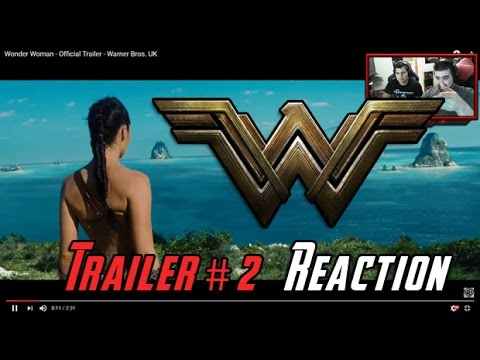 AngryJoeShow - Wonder woman trailer 2 angry reaction