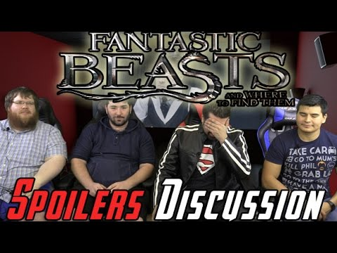 AngryJoeShow - Fantasic beasts spoiler discussion!