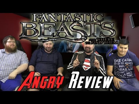 AngryJoeShow - Fantasic beasts angry movie review