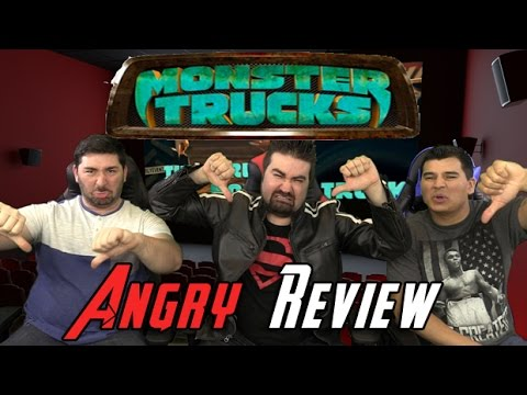 AngryJoeShow - Monster trucks angry movie review