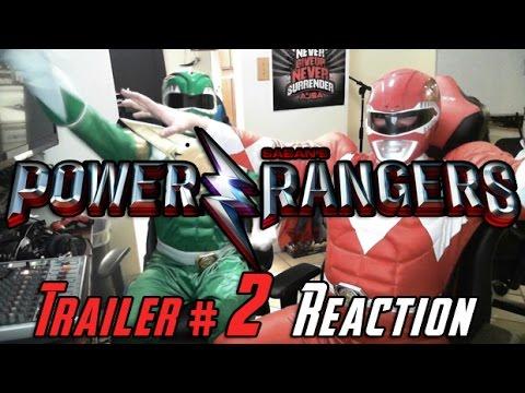 AngryJoeShow - Power rangers angry trailer #2 reaction!