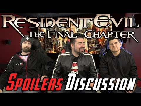 AngryJoeShow - Resident evil: the final chapter spoilers discussion