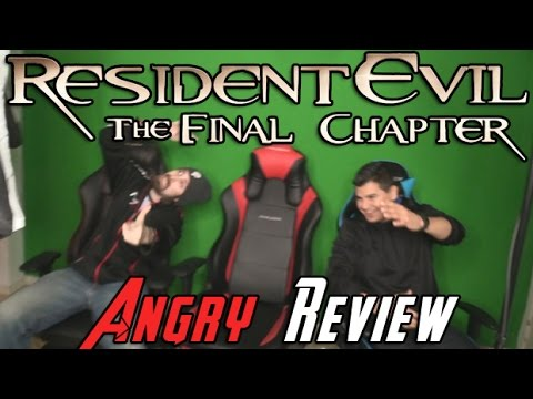 AngryJoeShow - Resident evil: the final chapter angry review