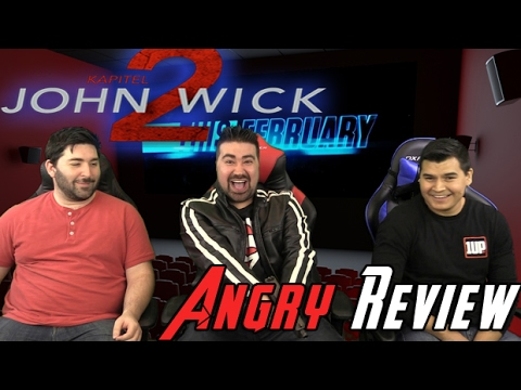 AngryJoeShow - John wick: chapter 2 angry movie review
