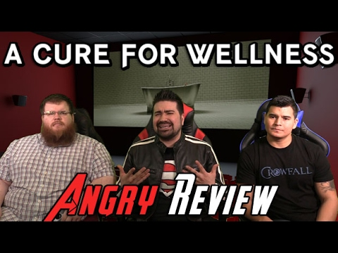 AngryJoeShow - A cure for wellness angry movie review