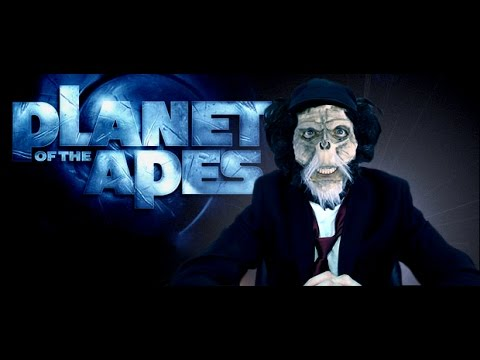 Channel Awesome - Planet of the apes  (2001) - nostalgia critic