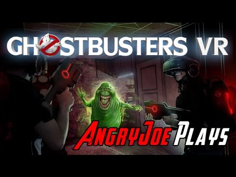 AngryJoeShow - Angryjoe plays ghostbusters vr - seriously, wtf?!?!