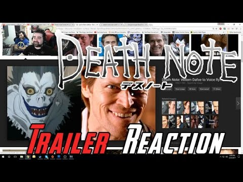 AngryJoeShow - Death note teaser angry reaction!