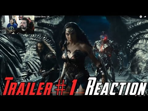 AngryJoeShow - Justice league trailer #1 angry reaction!