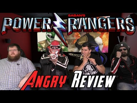 AngryJoeShow - Power rangers (2017) angry movie review