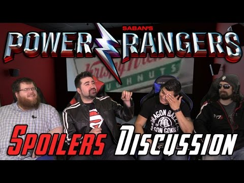 AngryJoeShow - Power rangers (2017) spoilers discussion