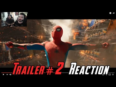 AngryJoeShow - Spiderman: homecoming angry trailer reaction!