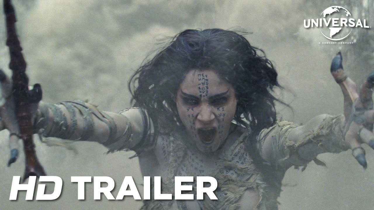 The Mummy (2017) video/trailer