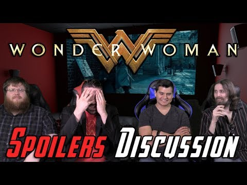 AngryJoeShow - Wonder woman spoilers discussion