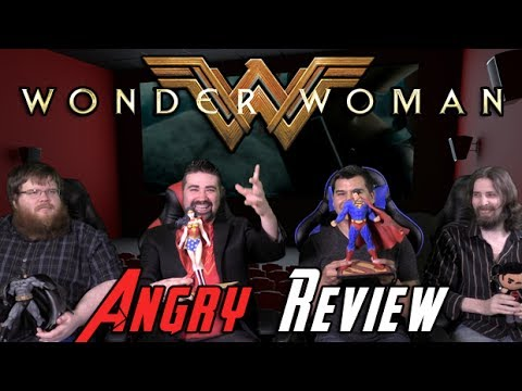 AngryJoeShow - Wonder woman angry movie review